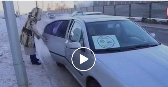 Аязды Астанадағы мейірім акциясы (видео)