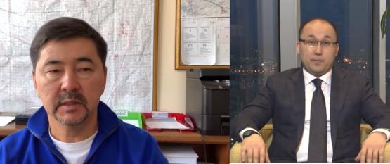 Марғұлан Сейсембаев министрге жауап берді (видео)