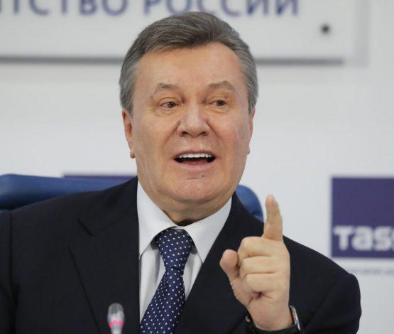 Янукович: Мені лақтырып кетті
