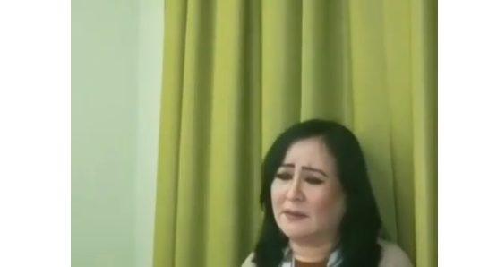 Гауһар Әлімбекова кешірім сұрап, көпшілікке алғыс айтты (видео)