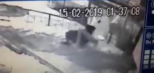 Алматыда адам тонағандардың қылмысы видеоға түсіп қалған