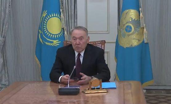 Президент Нұрсұлтан Назарбаев арнайы мәлімдеме жасады (видео)