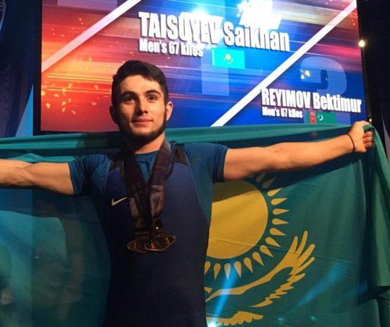 Қазақстандық спортшы әлем рекордын жаңартты