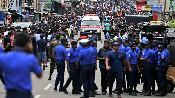Шри-Ланкадағы жарылыстардан 207 адам қаза тауып, 450 кісі жарақат алған