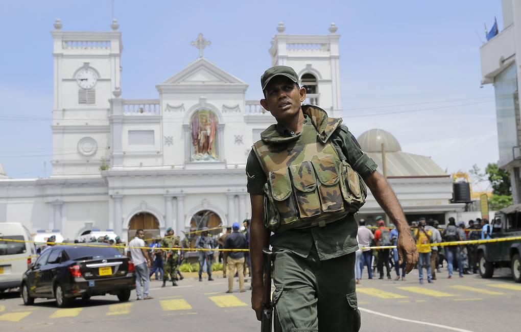 Шри-Ланкадағы теракттан қаза тапқандар саны 321-ге жетті
