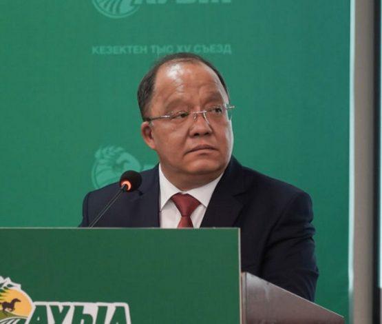 «Ауыл» партиясы атынан Төлеутай Рақымбеков сайлауға түседі