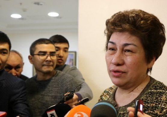Шәмшидинова Ұлттық тестілеу орталығы басшысының ұсталуына қатысты пікір білдірді