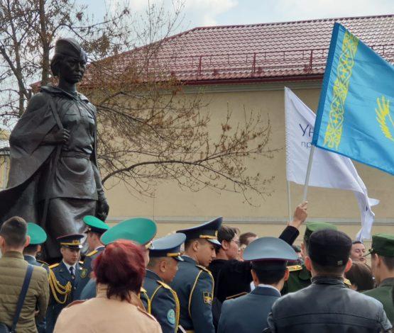 Ресейде Әлия Молдағұловаға ескерткіші тұрғызылды