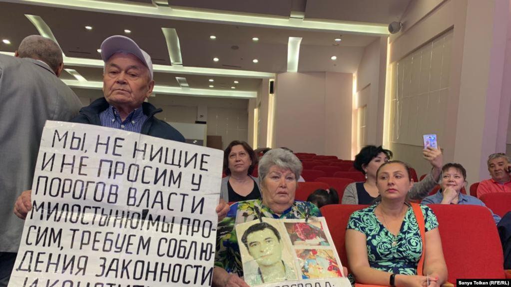"""Наразы топ """"Нұр Отан"""" партиясына барды"""