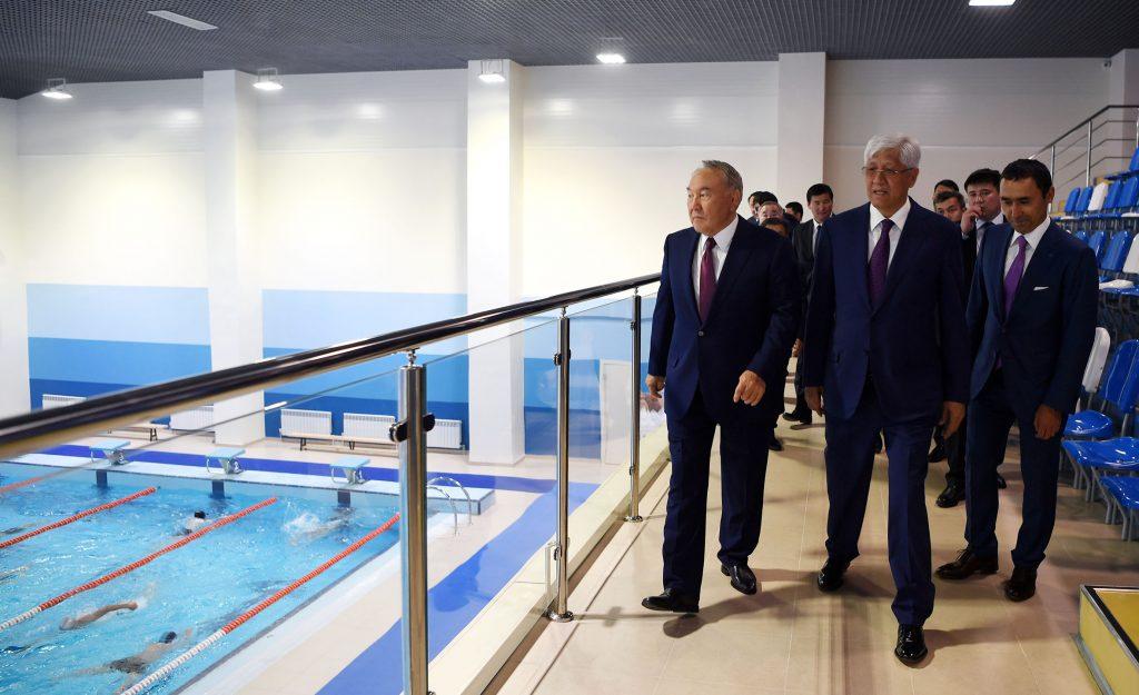 Назарбаев: Менің отбасым және жақындарым осы спорт кешенін арнайы сіздердің игіліктеріңіз үшін салды