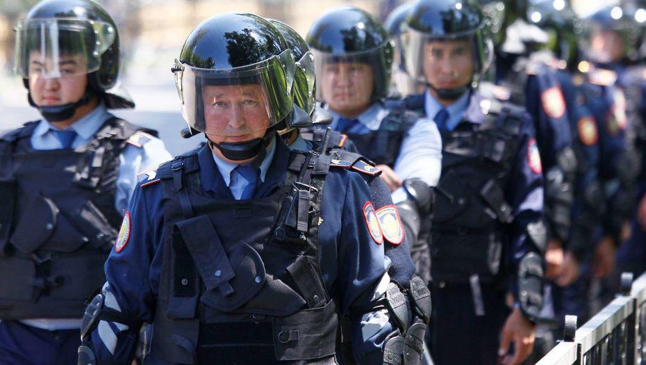 Сайлау алдында полиция күшейтілген тәртіпке көшеді