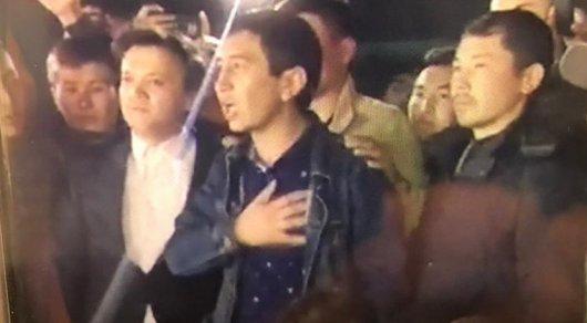 Полиция: Ринат Зайытов рұқсат етілмеген митингіге қатысты