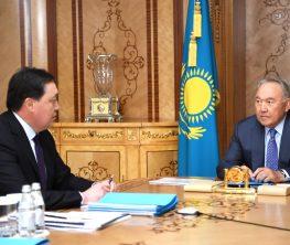 Қос билік: Назарбаев прьемер-министр Асқар Маминді қабылдады