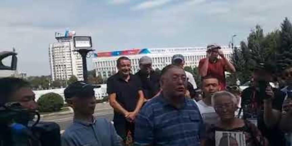 Алматыдағы акция: Қытай экспансиясына жол бермейміз! (видео)
