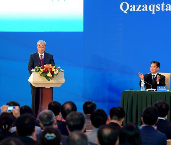 Тоқаев: Қытай компанияларымен жұмыс істеуге мүдделіміз