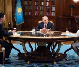 Назарбаев қос билік туралы қауесетті кімдер таратып отырғанын айтты (видео)