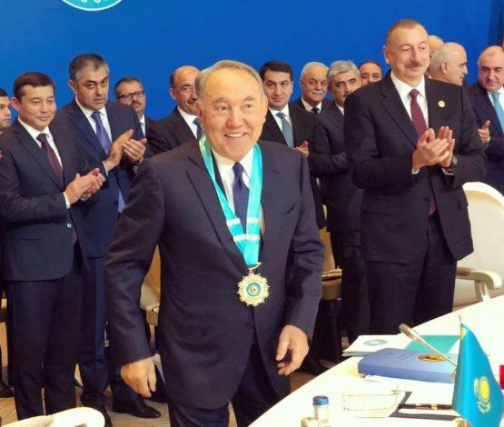 Назарбаевқа Түркі әлемінің жоғарғы ордені берілді