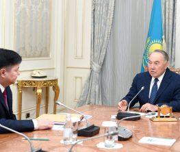 Назарбаев жоғарғы сот төрағасын қабылдады