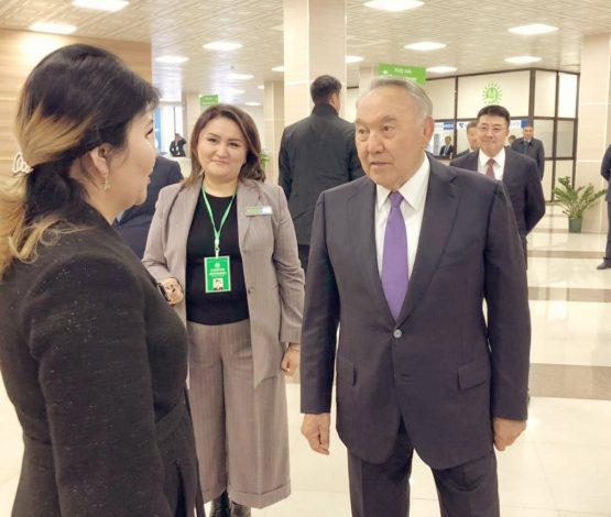 Назарбаевтың Түркістанға сапары жалғасып жатыр