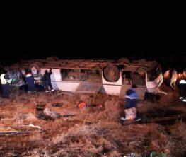 Қызылордада автобус аударылып, 8 адам қаза болды