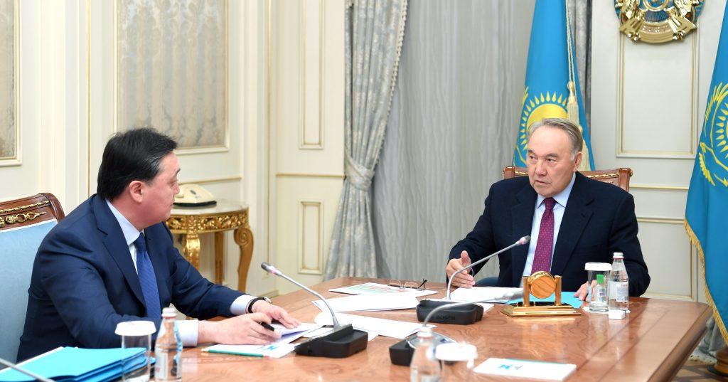 Премьер-министр Назарбаевқа экономика жағдайы туралы баяндап берді