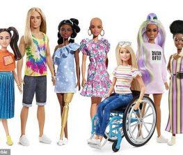 Барби өндірушілері мүгедек қуыршақтардың жаңа линиясын ұсынды