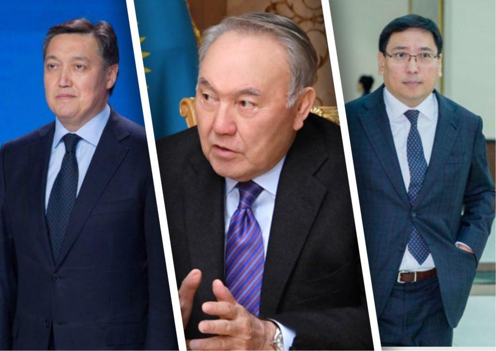 Назарбаев ұлттық банк төрағасы мен премьер-министрді қабылдады
