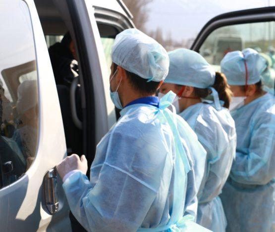 Түркістанда коронавирус жұқтырған азаматпен бірге келген 56 адам анықталды