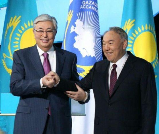 Тоқаев: Назарбаевтан ел тізгінін қолға алу мәртебесі бұйырды