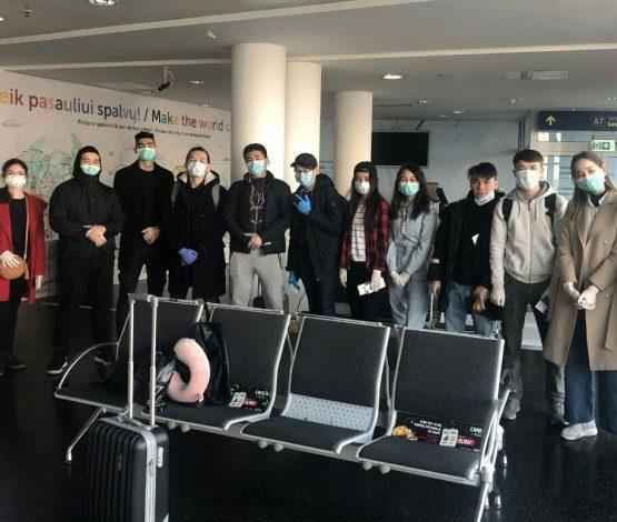Литвадан Қазақстанға 15 студент келді