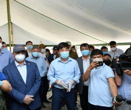 Байбек Назарбаевтың сәлемін жеткізгеніне мақтаралдықтардан бата алды