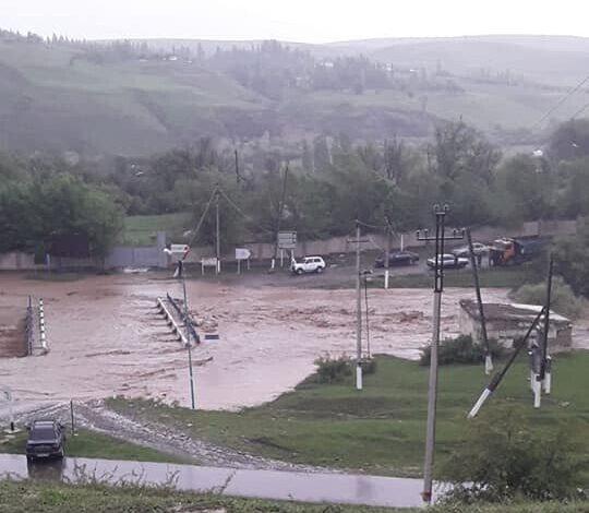 6 ауылдағы 215 үйдің ауласына су кірген