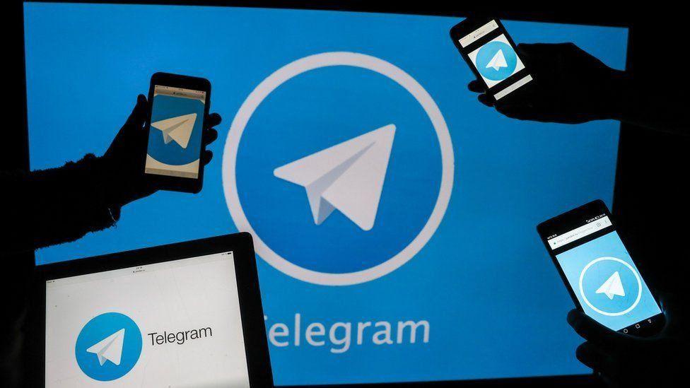 Онлайн сабақтың сілтемелері мен құпия сөздері Telegram-ға жарияланған