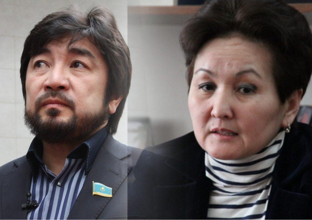 Айгүл Ісмақова Бекболат Тілеуханға араша түсті (видео)