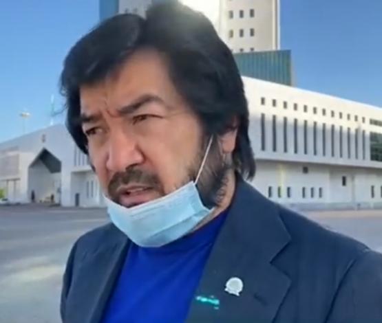Бекболат Тілеухан ҰҚК, ІІМ-не шағым түсірді (видео)