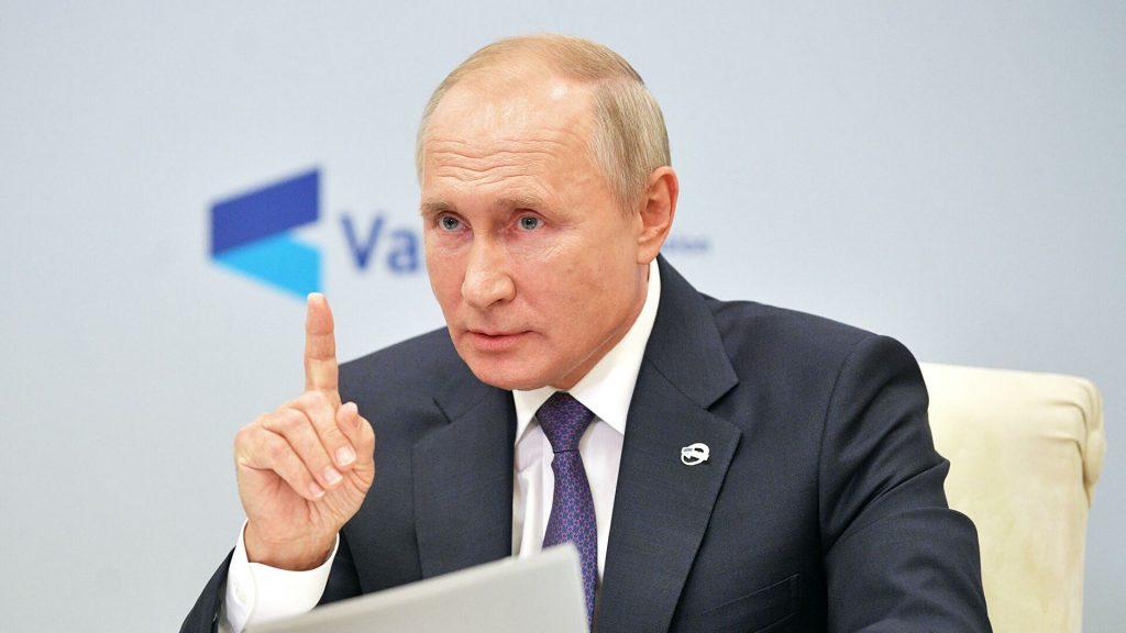 Путин: Қарабақ қақтығысында 5 мыңдай адам қаза болды