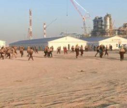 Өзбекстанда зауыт жұмысшылары бүлік шығарды (видео)