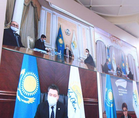 Назарбаев: Әлемдік экономика құлдырағанда қиындықты ұлттық қордың арқасында айналып өттік
