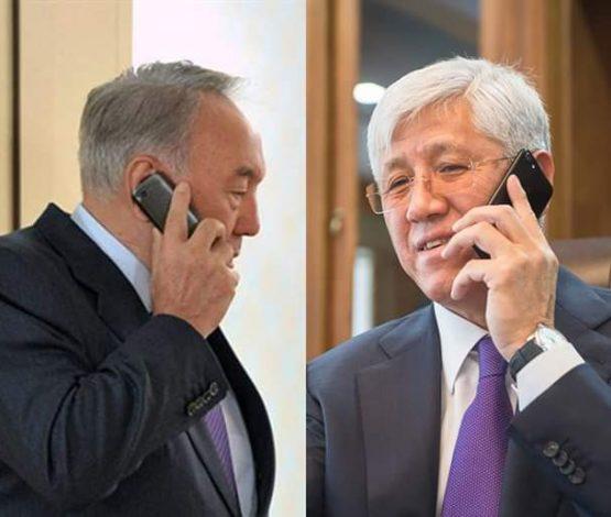 Назарбаев Амандық Баталовқа тағы да батасын берді ме?