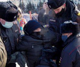 Ресейде 48 градус аязға қарамастан Навальный жақтастары наразылыққа шықты