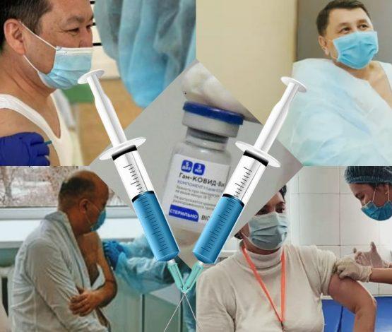 Шешінген шенеуніктер: Ел алдында «Спутник V» вакцинасын кімдер салдырды?