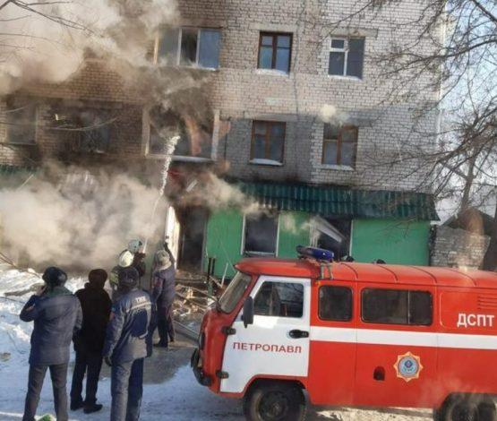 Петропавлда тұрғын үйде болған жарылыстан екі адам қаза болды