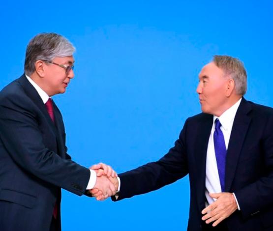 Назарбаев ассамблея төрағалығын Тоқаевқа берді