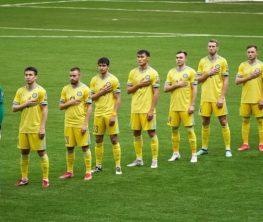 Қазақстан құрамасы футболда Украинадан жеңілген жоқ