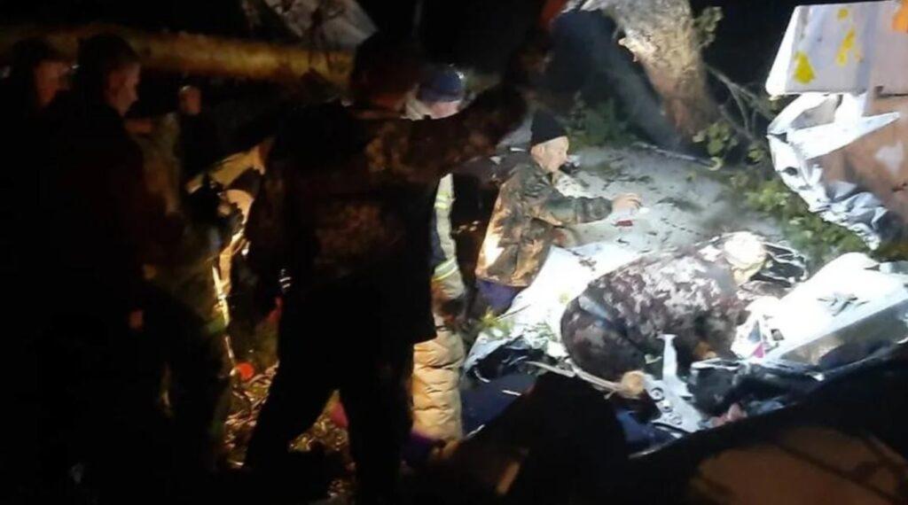 Ресейдегі ұшақ апатынан төрт адам қаза болды