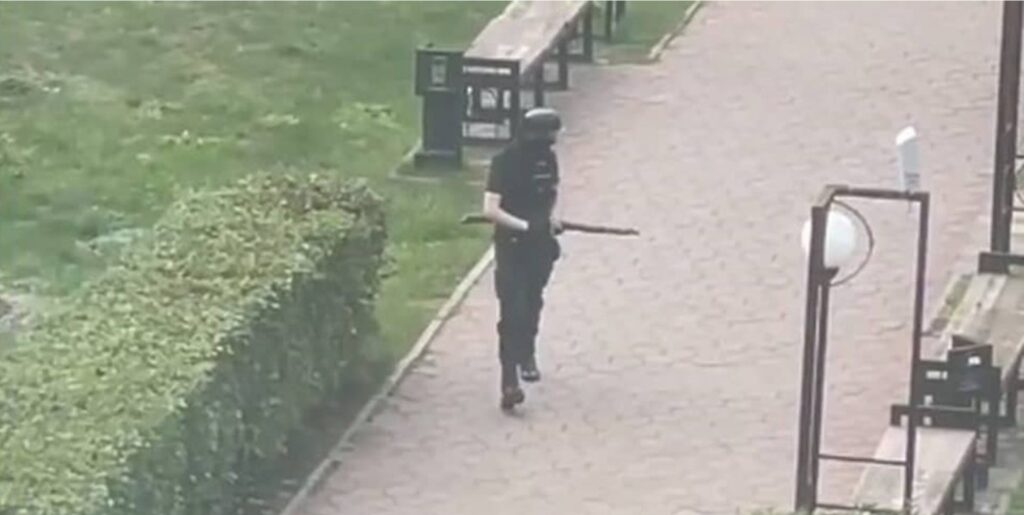 Перьм университетіндегі қарулы шабуылдың толық видеосы шықты