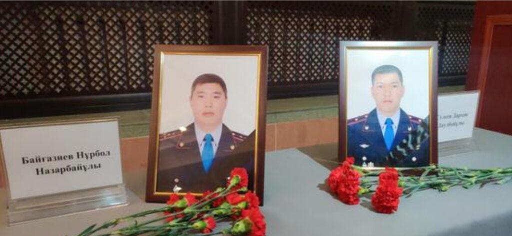 Тұрғымбаев Алматыда қаза болған полицейлер туралы жазды