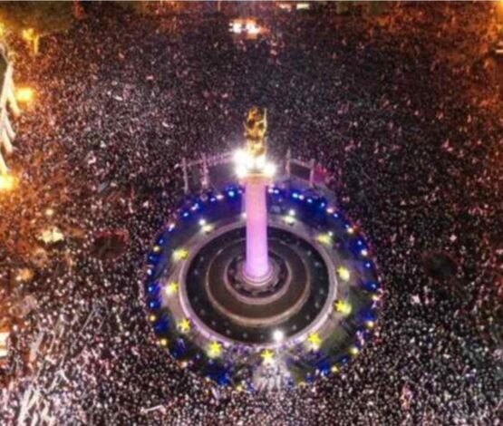 Саакашвили жақтастары сайлау күні митингке шығатынын хабарлады