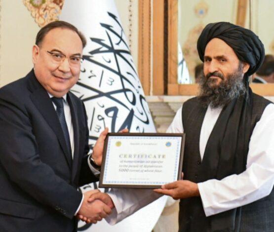 Қазақстан билігі талибандар басқарған елге гуманитарлық көмек жеткізді